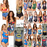 Girls Swimming Costume Swimsuit Swimwear One Piece Size 8 10 12 UK Seller