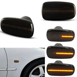 For Lexus IS200 IS300 Toyota Land Cruiser Dynamic LED Side Marker Blinker Lights