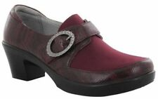 Alegria Holli Shoes 37 (7-7.5) Spiffy Merlot Leather PG Lite HOL-697 NEW $135
