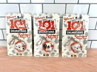 Disney 101 Dalmatians Keychain & Zipper Pull Set - 1990's by Hope Industries