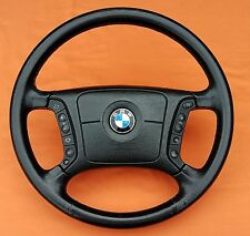 BMW E38 E39 LATE MODEL LEATHER HEATED STEERING WHEEL 740iL 530i 540i 525i 2000+