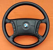 BMW E38 E39 LATE MODEL LEATHER HEATED STEERING WHEEL 740iL 530i 540i 525i 2000+