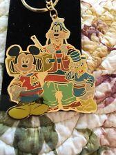 WDW Mickey, Pluto, Goofy, Donald  key chain
