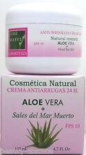 Pere Marve ALOE VERA + Dead Sea Salt 24 H ANTI WRINKLES CREMA 140 ML spf10