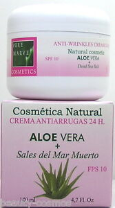 Pere Marve Aloe Vera Dead Sea Sale 24 H Anti Rughe Crema 140 ML SPF10