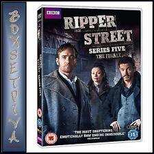 RIPPER STREET - COMPLETE SERIES 5 - THE FINALE *BRAND NEW DVD***