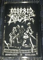 Death Metal Morbid Angel Abominations of Desolation VG Cassette Tape *Very RARE*