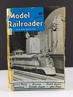 Model Railroader Magazines 1947 Lot 12 Issues Complete Year Kalmbach Publishing