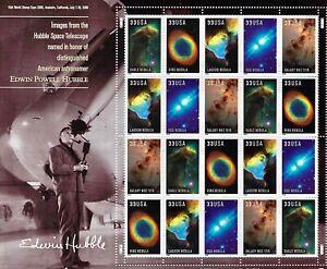 US #3388a MNH M/S CV$13.00 2000 Nebula Hubble [S11111][Orig USPS Pkg]