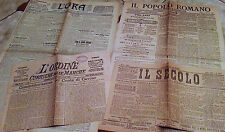 Lotto commemorazione nascita Cavour 1887-1910