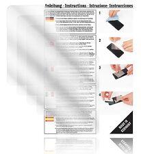 6x Displayschutzfolien für A-Rival Teasi One 2 Schutzfolie Klar Folie