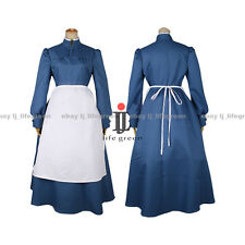 Howl's Moving Castle Sophie Hatter Uniform COS Cloth Cosplay Costume