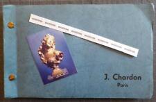 J. CHARDON. EDITEUR FONDEUR D'ART Bronzes Sculptures Chiparus Barye Mène Bonheur