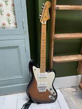 More details for fender squier jazzmaster sunburst electric guitar
