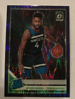 2019-20 Donruss Optic Jaylen Nowell Rated Rookie Purple Shock Refractor Prizm RC