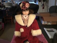 "Boyds Yesterday's Cild Porcelain Doll ""Amy"""