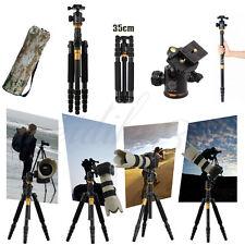 Q-666 Portable Pro Tripod Monopod & Ball Head Compact Travel For SLR DSLR Camera