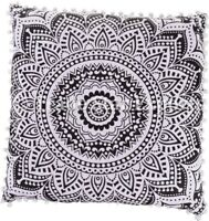 Mandala Euro Sham Tapestry Cushion Cover 26x26 Pillow Case Boho Decorative Throw
