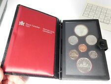 1982 Royal Canadian Mint Proof Set With Box & COA
