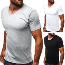 Herren-T-Shirts mit V-Ausschnitt in Größe 2XL im Basic