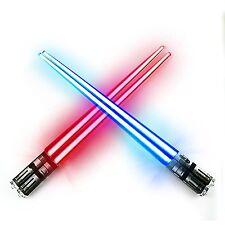 Star Wars Chop Sabers Light Up Lightsaber Chopsticks Pair Set - FREE SHIP