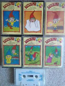 MC CBS: HATSCHIPUH - Folgen 1,2,3,4,5,6,7; Kinderhörspielkassetten