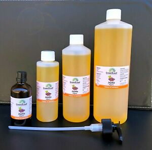 JOJOBA OIL  100% PURE ORGANIC COLD PRESSED  GRADE  CARRIER OIL 50ML 100ML 200ML