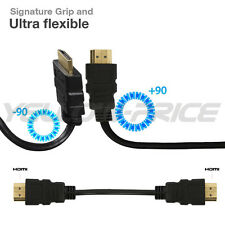 25FT HDMI v1.4 Cable Gold Plated High Speed Supports 3D, Ethernet and Audio