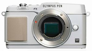Olympus PEN E-P5 Gehäuse / Body  B-Ware unter 5000 Auslösungen weiß EP5 bulk