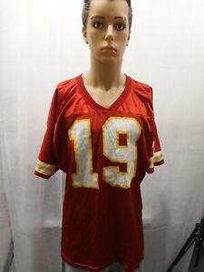 Vintage Joe Montana Kansas City Chiefs Wilson Jersey XL NFL