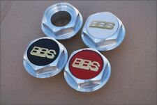 BBS RS Hex Nuts RC Center Caps 15 16 17 18 19 Inch Large Thread 2.76in Vw Bmw