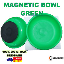 2 x Magnetic Bowl Tray for Parts and Tools | Green