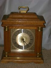 WESTMINSTER CHIME QUARTZ MANTLE CLOCK