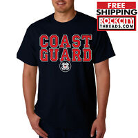 COAST GUARD T-SHIRT US Military United States USCG Shirt Army Tshirt USA