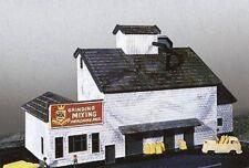 N Gauge Building Kit Grain Mill 670 Neu