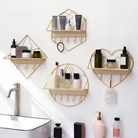 Display Ledge Wall Shelf Storage Hanging Rack Floating Shelves Decoration Home E