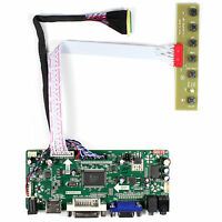 "HD MI DVI VGA Audio Controller Board For 15.6"" B156HW01 LP156WF1 1920x1080 LCD"