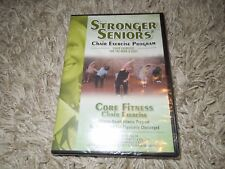 Stronger Seniors: Core Fitness Chair Exercise (DVD, 2012)