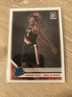 2019-20 Panini Donruss Optic Nassir Little Rated Rookie Base Mint RC #154