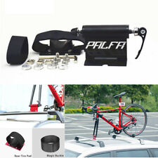 Car SUV Roof Mount Bike Luggage Rack Carrier Black Alloy Quick-release Fork Lock