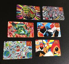 CANADA  🇨🇦 MCDONALDS GIFT CARD ----- LOT OF 6 PCS.. --- NEW