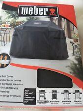 Weber Premium Barbecue Cover 7183 Spirit II 3 Burner Gas Grill 200/300 Series