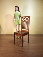 "2 chairs for Barbie FR BJD Dolls 12"" 1/6 furniture handmade diorama OOAK V16"
