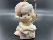 Precious Moments Ornament Christmas Is Ruff Without You 1989 With Extras