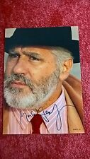 Original-Autogramm von Mario Adorf, Farb-Magazinbild, groß 28,5 x 20,5 cm