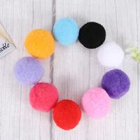 4cm DIY Crafts Pom Poms Kitten Fluffy Balls Toys Packsack Handbag Decorations