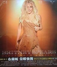 BRITNEY SPEARS GLORY JAPAN TOUR EDITION 2 CDs Taiwan Slipcase Edition (2017) #B3