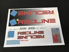 Redline 500b Decals Sticker Set Era Correct Suit Your Old School BMX