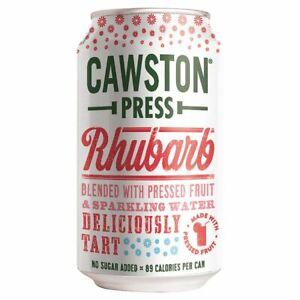 Cawston Press Rhubarb 330ml X 24 CANS