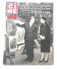 CINE-REVUE 25 octobre 1951 MICHELE MORGAN PHILIPPE LEMAIRE JANE RUSSELL JOUVET